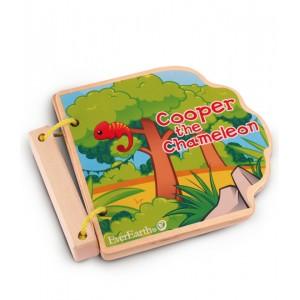 EverEarth Safari Wooden Book