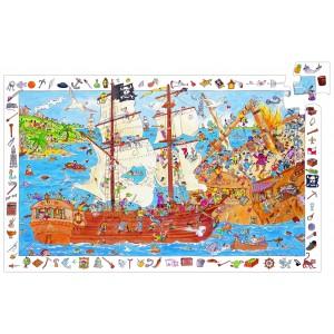 Djeco Pirate Observation Jigsaw 100pcs