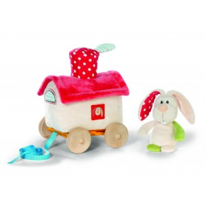 NICI Pull along toy Rabbit