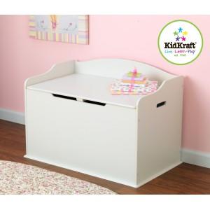 Kidkraft White Austin Toy Box