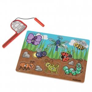 Kidkraft Bug Magnetic Wooden Puzzle