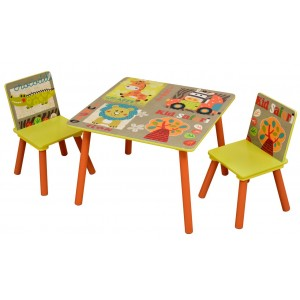 Safari Kids Play Table and Chairs