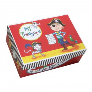 Rachel Ellen Pirate Keepsake Box