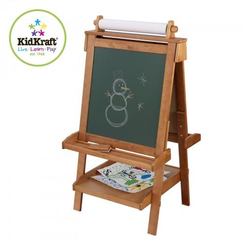 Kidkraft Wooden Adjustable Easel Childrens Easel Uk